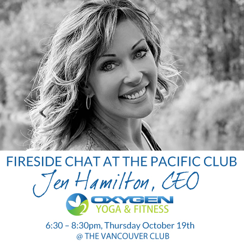 Hear Jen, Fireside at The Pacific Club